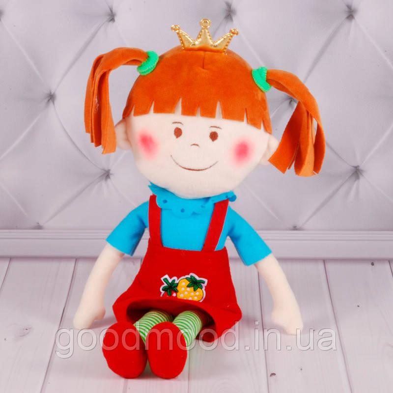 """М'яка іграшка """"Дівчинка Принцеса"""", Копиця 00417-00"""