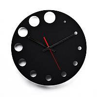Деревянные настенные часы Moku Point 38 x 38 см 0111, КОД: 1076163