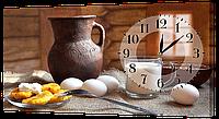 Настенные часы на холсте DK Store кухня ch31 hubbCjU40614, КОД: 1223910