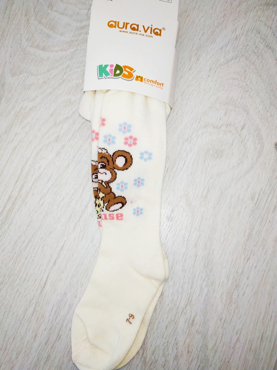 Детские колготы хлопок 100%, Avra.via, Венгрия,  арт. 0826, 10-12 лет