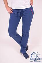 Брюки спортивные женские (цв.синий) трикотажные на флисе MARATON 10439 Размер:44,46,48,50