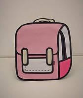 Школьный детский рюкзак 2D