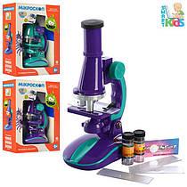 Дитячий навчальний набір - мікроскоп, аксесуари, світло, 2127