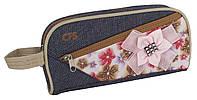 "Пенал-сумочка мягкий Cool For School ""Jean Flower"" CF853444"