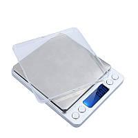 Весы ювелирные электронные 2000g / 0.1g Серый (1em_001935)