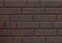 Цокольный сайдинг. фасаднаяя панель Ю-ПЛАСТ Stone-House Кирпич коричневый. Стоун хаус кирпич.Оптом.