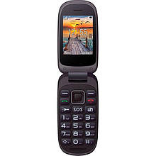 Телефон Maxcom MM818 Black