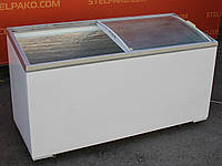 """Морозильный ларь """"KLIMASAN"""" (Турция), гнутое стекло, 500 л., Б/у, фото 1"""