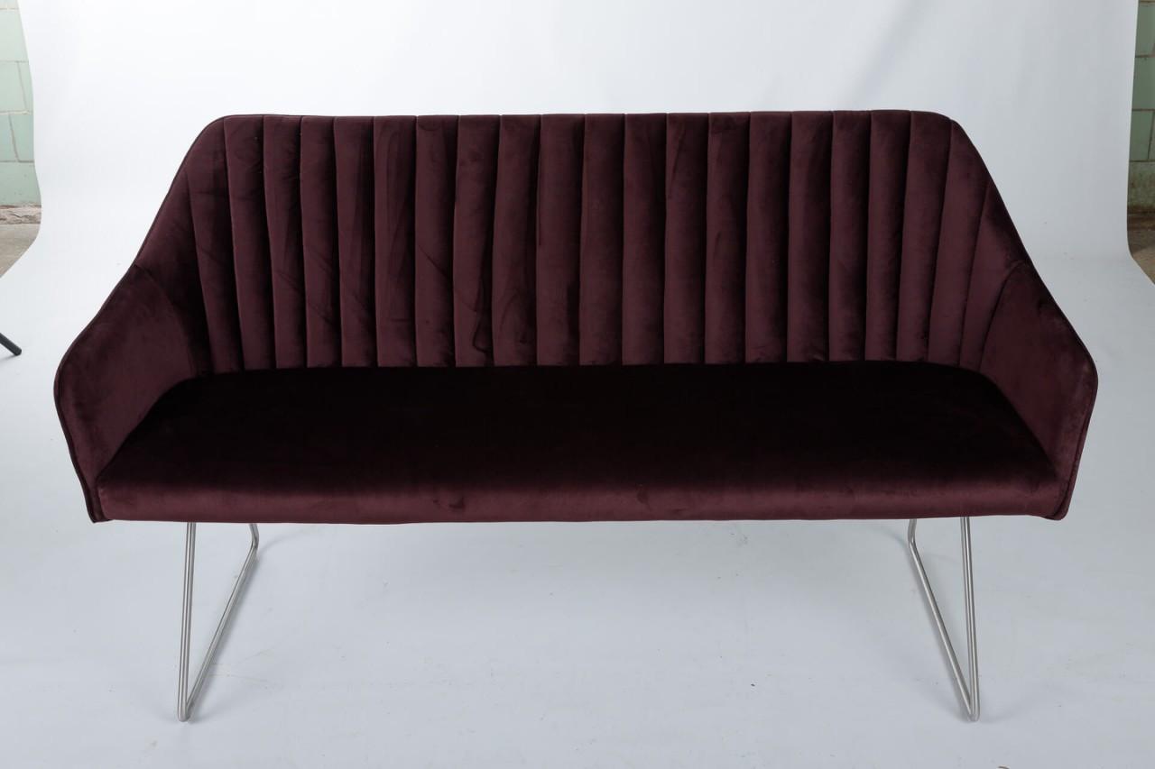 Кресло - банкетка BENAVENTE (1500*610*810 текстиль) гранат