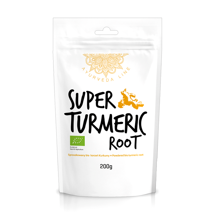 Куркума порошок (Bio turmeric) 200g Diet Food