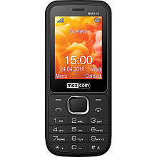Телефон Maxcom MM142 Black