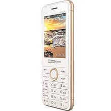Телефон Maxcom MM136 White-Gold (5908235973500)