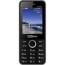 Телефон Maxcom MM136 Black-SIlver