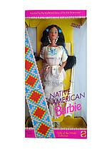 Коллекционная кукла Барби Индианка Куклы Мира Barbie Native American Dolls of the World 1992 Mattel 1753