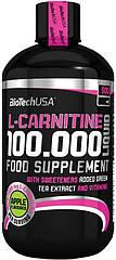 BioTech (USA) L-carnitine 100.000 Liquid, Рідкий L-Карнітин (500 мл)