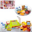 Кассовый аппарат 888А-888А (2 цвета) весы,корзинка,сканер,продукты..., фото 2