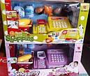 Кассовый аппарат 888А-888А (2 цвета) весы,корзинка,сканер,продукты..., фото 3