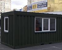 Мобильный домик контейнерного типа