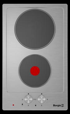 Варочна поверхня електрична BORGIO 3620 Inox