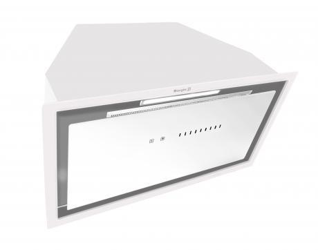 Вытяжка кухонная встраиваемая BORGIO BIT BOX full glass 60 white 1300 м3