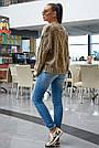 В'язаний светр жіночий кольору кави, р. 42-48, в'язка, фото 6
