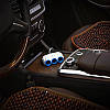 Автомобильный разветвитель+зарядное 3.1A Hoco C1, фото 4