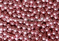 Декоративні перлини — Рожеві Ø5 - 200 г, фото 1