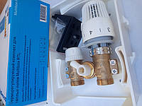 Бокс РТЛ- Клапан (кран) термостатический RTL с термоголовкой для контура теплого пола