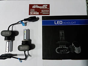Лампа LED радиатор H27 12-24V 6500K к-т