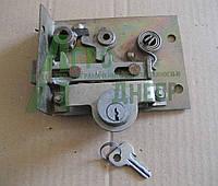 Замок с цилиндровым механизмом двери левой кабины ЮМЗ (с ключем) 45-6709000 А1 СБ, фото 1