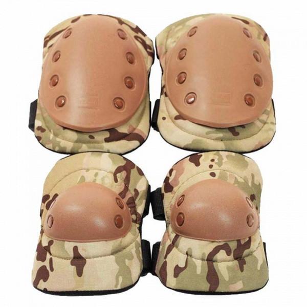 Комплект тактический (налокотники + наколенники) U.S.Army, мультикам
