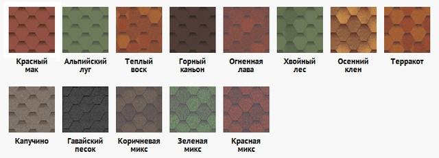 Выбор цвета кровли для бани в бочке