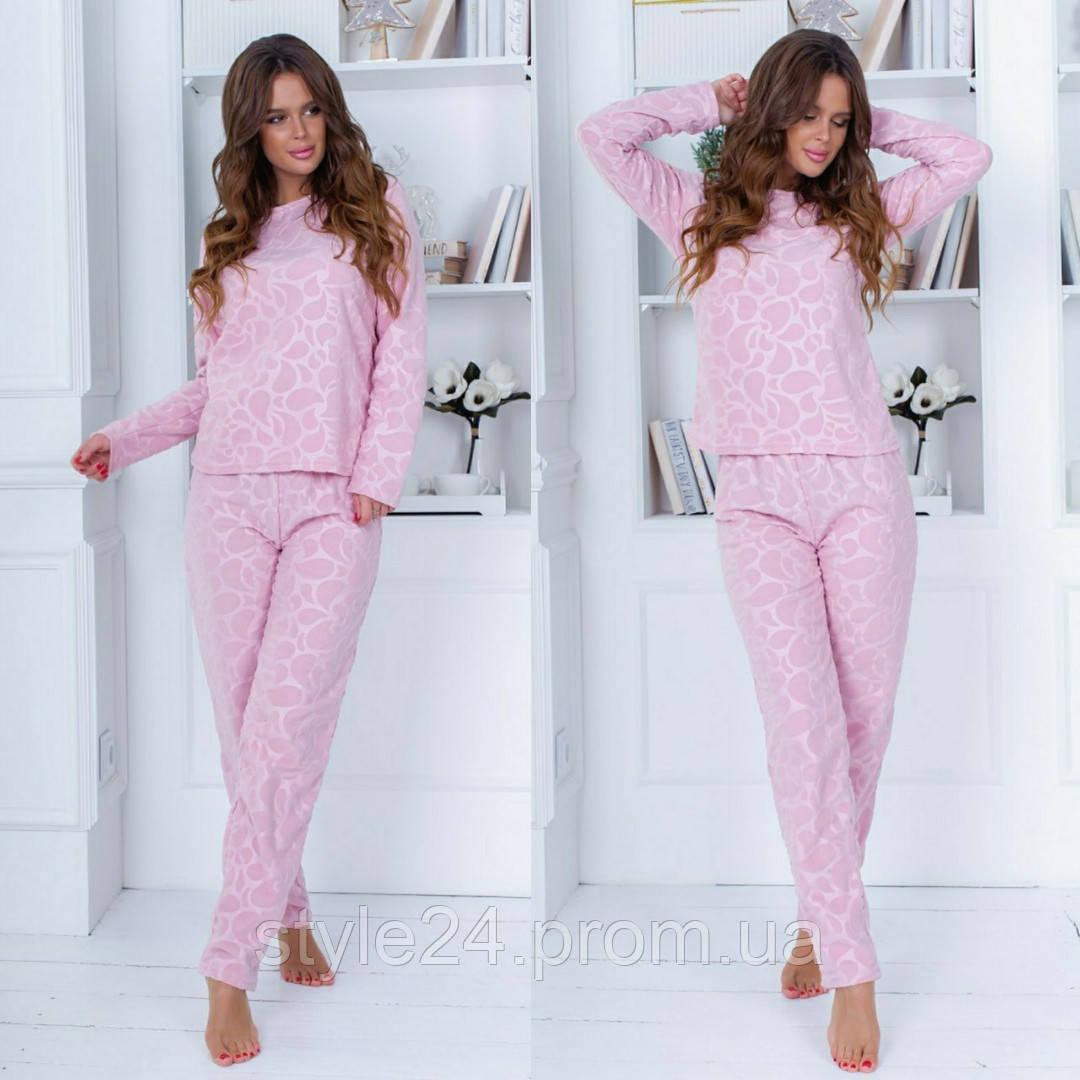 Шикарна жіноча піжама :кофта і штани ,8 кольорів .Р-ри 42-54