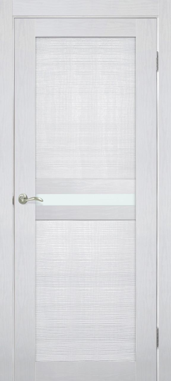 Дверь межкомнатная Омис Optima 03 CC ясень перламутр