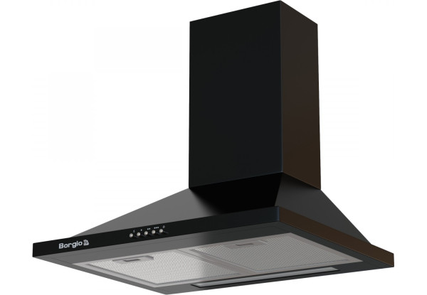 Вытяжка кухонная купольная BORGIO BHK 50 black