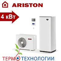 Тепловой насос воздух-вода Ariston compact 4 кВт + гидравлический модуль и бак на 180 л, фото 1