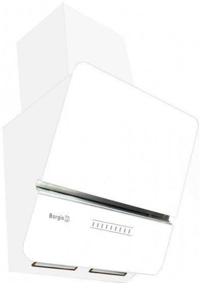 Вытяжка кухонная наклонная BORGIO RNT LX 60 white SU