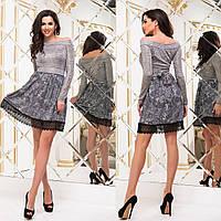 """Короткий модне плаття демисезон """"Сангрія"""", фото 1"""