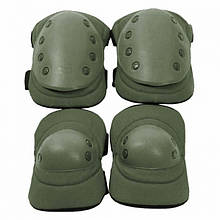Комплект тактичний (налокітники + наколінники) U. S. Army, олива