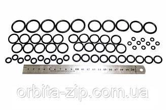Набор механика маслобензостойких резиновых колец №1 (60штук) (D=5мм - D=25мм) арт.2705