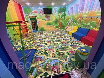 Детский ковролин Карамельный город (CANDY TOWN), фото 2