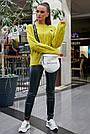 Свитер молодёжный женский цвета горчица, р.42-48, вязка, фото 3