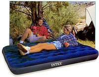 Надувной двухспальный матрас Intex 68758 (137х191х22см)