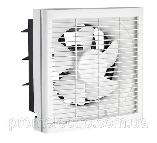 Осевой вытяжной оконный вентилятор ОВВ 250, фото 2
