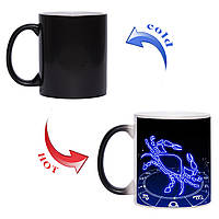 Чашка хамелеон Знак зодиака Рак 330 мл