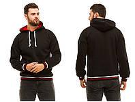 Чоловіча тепла кофта худі з кишенями та капюшоном , 3 кольори .Р-ри 48 -52