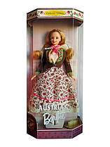 Коллекционная кукла Барби Австрия Куклы Мира Barbie Irish Dolls of the World 1998 Mattel 21553