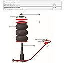 Домкрат пневматический профессиональный 4,2т JP-3PRO AIRKRAFT, фото 2