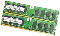 Пара оперативной памяти Super Talent DDR2 4Gb (2Gb+2Gb) 667MHz PC2  5300U 2R8 CL5 (T667UB2GV) Б/У, фото 1