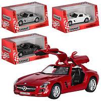 Машинка Mercedes SLK Kinsmart KT 5349 W игрушечная модель машины